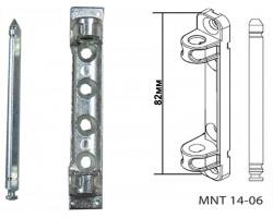 Петля верхняя ENDOW для пластиковых окон и дверей