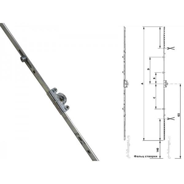 Приводы Geviss поворотные для пластиковых окон и балконных дверей