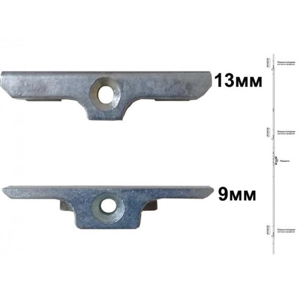 Планка стопорная G-U (ГУ) для пластиковых окон и дверей 9мм и 13мм