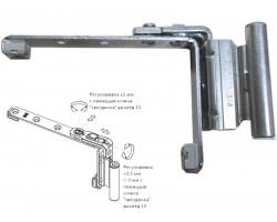 Петля поворотная (ножницы) GU для окон и дверей