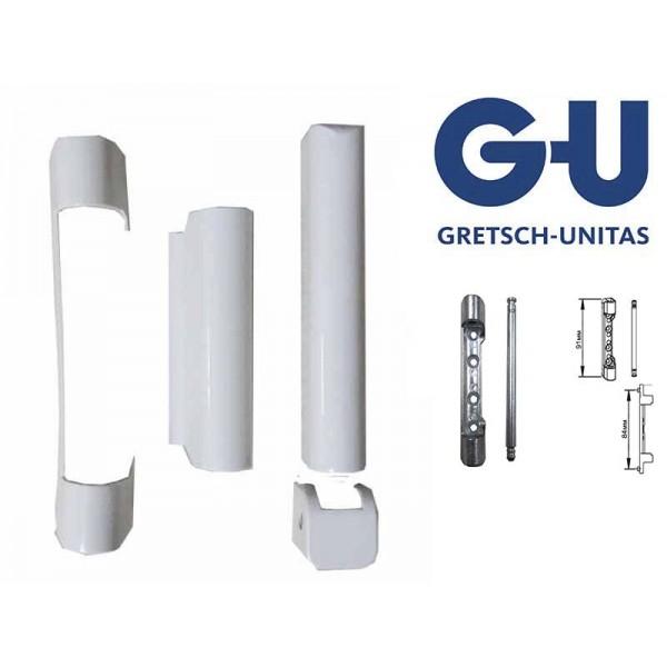 Накладки G-U (ГУ) на петли пластиковых окон и дверей