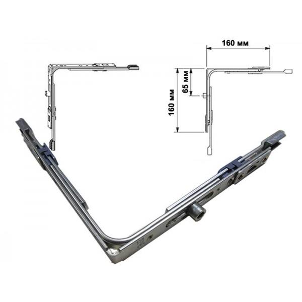 Угловая передача G-U EURO-JET для пластиковых окон и дверей