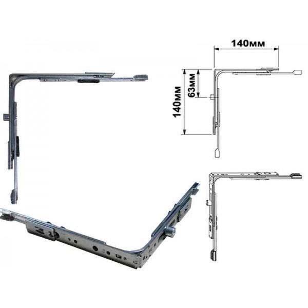 Угловая передача Siegenia Favorit Classic VSO для пластиковых окон и дверей