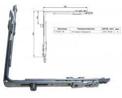 Угловая передача KALE на пластиковые окна и двери