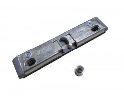 Защелка балконная Vorne 9 мм для пластиковой балконной двери