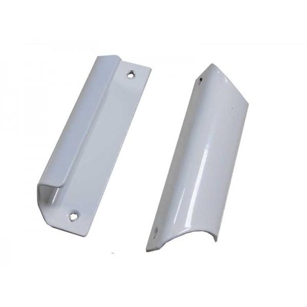 Алюминиевая балконная ручка на пластиковую балконную дверь