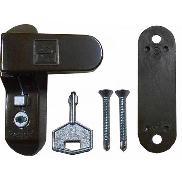 Блокиратор на окна Penkid Sash lock ограничитель открывания коричневый