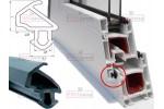 Уплотнители для пластиковых окон и дверей резиновые, Schlegel (шлегель) в розницу.