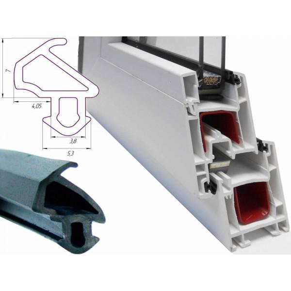 Уплотнитель для пластиковых окон и дверей KBE 228 в розницу